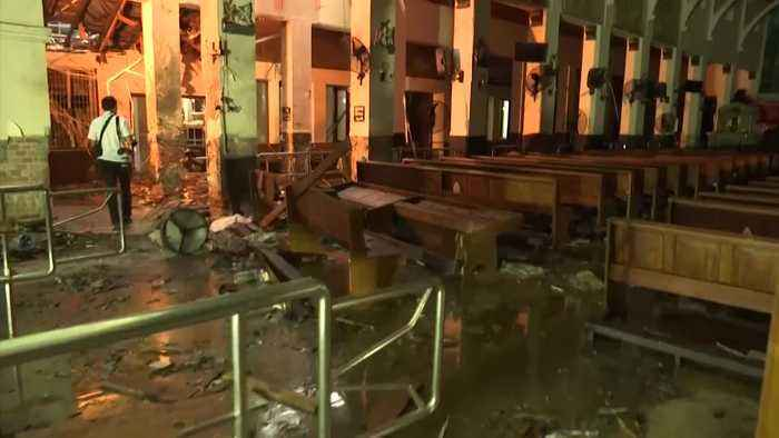 First look inside Sri Lankan church bombed on Easter Sunday