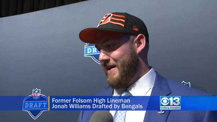 Jonah Williams Talks About Being Drafted By The Bengals