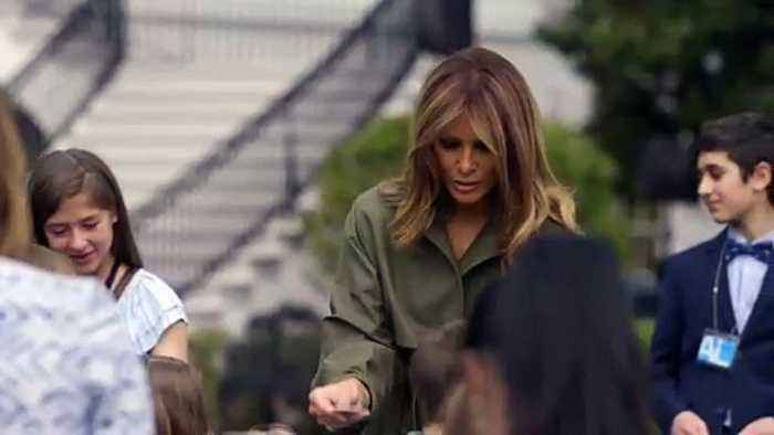 White House Slammed For Posting 'Sad, Lonely' Photo Of Melania Trump In Birthday Tweet