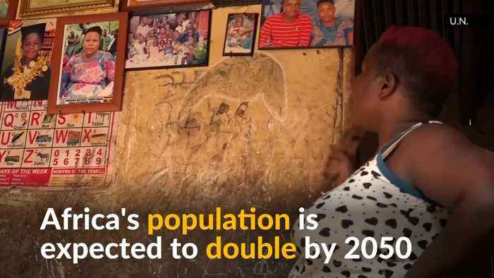 Mother of 38 children in Uganda highlights Africa's fertility rate
