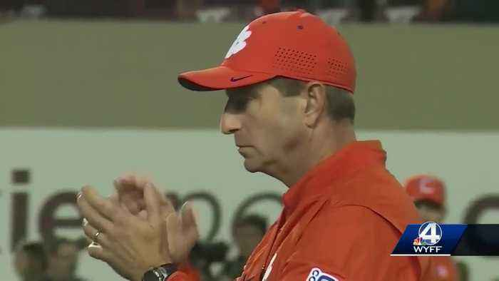 Dabo Swinney agrees to largest contract in college football history