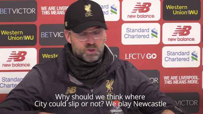 Final fixtures the only focus for Klopp