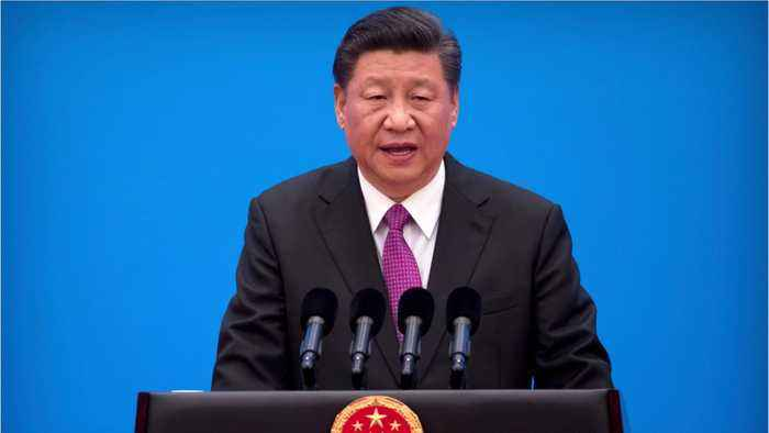 China's Xi Touts More Than $64 Billion In Belt And Road Deals