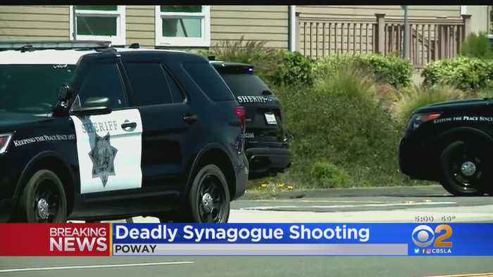 Poway Synagogue Shooting Leaves 1 Dead, 3 Injured