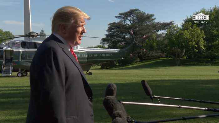 President Trump Talks About Synagogue Shooting In California