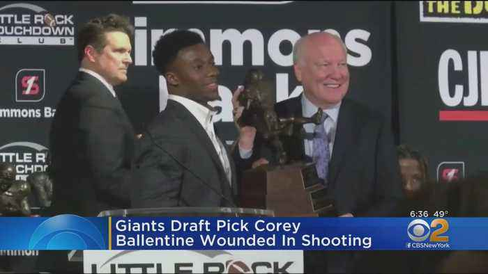 Giants Draft Pick Wounded In Shooting