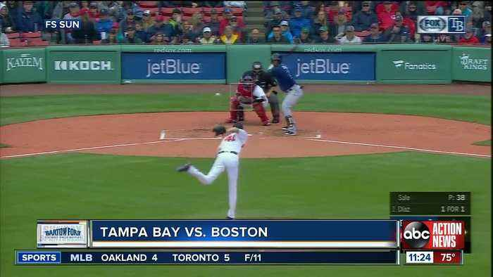 Chris Sale drops to 0-5 as Tampa Bay Rays beat Boston Red Sox 5-2