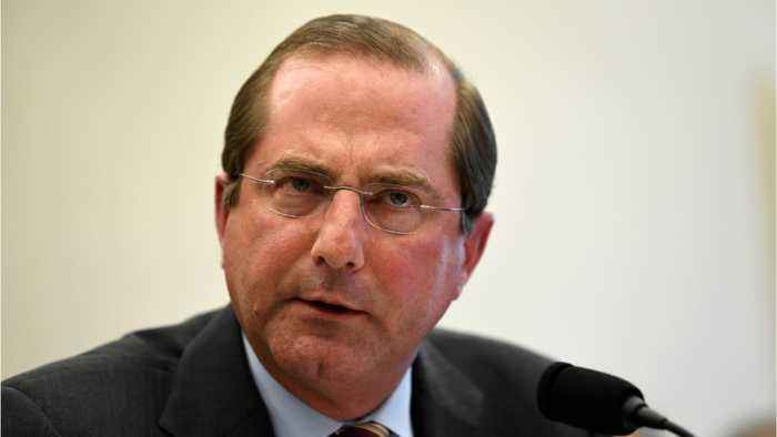 Azar Praises Trump For Shift In Vaccine Stance