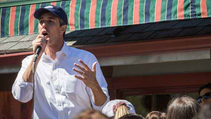Democratic Presidential Candidate O'Rourke Lays Out $5 Trillion Climate Plan