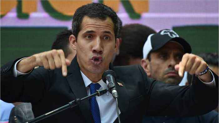 Guaido Says Troops Have Joined Him To End Maduro's Presidency