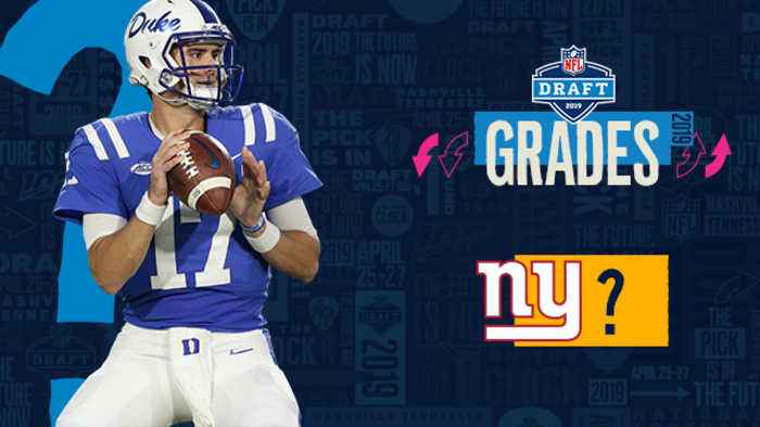 NFL Network's Daniel Jeremiah grades the New York Giants' 2019 draft class