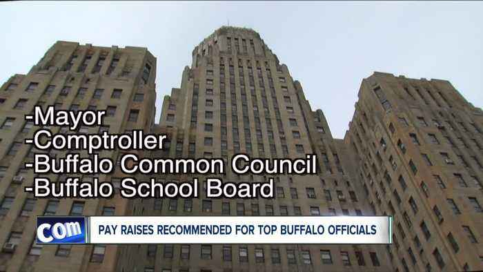 Pay raises recommended for top Buffalo officials