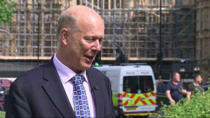 Grayling on cancellation of no-deal Brexit ferry contracts