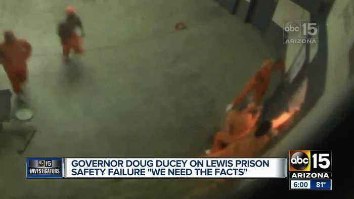 Ducey says retired judges to probe prison locks