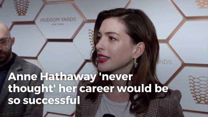 Anne Hathaway Reflects On Her Career