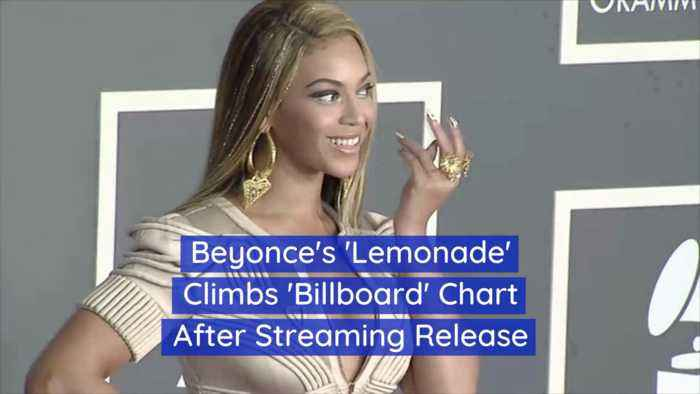Beyonce Is Running Up The Charts Again