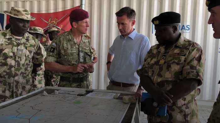 Jeremy Hunt warns of increased UK military involvement in Africa