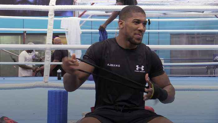 Anthony Joshua: Wilder is the fight I really wanted