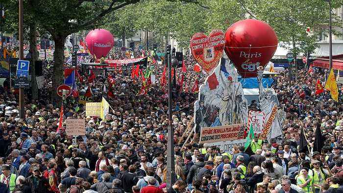 International Workers' Day: Europe marks May Day as Paris march turns violent