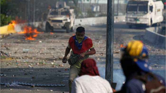 Venezuelan Protests Begin To Slow As Maduro Clings To Power