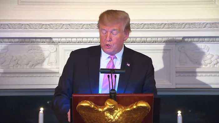 Trump says he mourns for Christians and Muslims killed in recent attacks