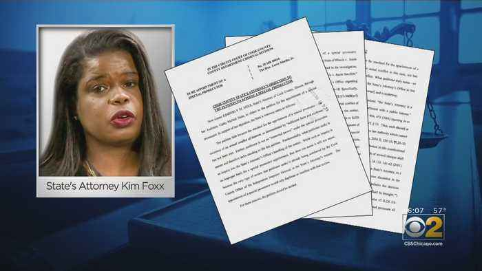 A Conflict Of Interest Could Present Itself In An Upcoming Hearing With Kim Foxx