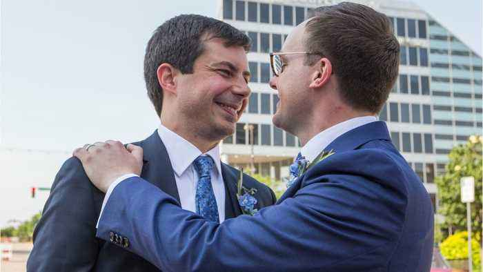 Pete Buttigieg And Husband Chasten Are 'First Family' On Time Cover