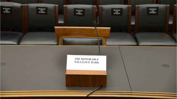 Congress Holds Hearing To Empty Chair After Barr No-Show