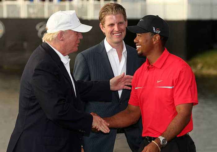 Tiger Woods to Visit President Trump at the White House
