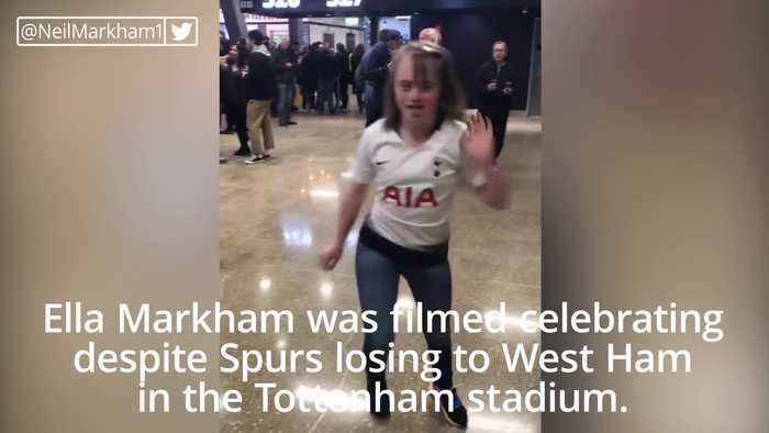 Harry Kane invites dancing girl with Down's Syndrome to be Tottenham's mascot after she was targeted by online trolls