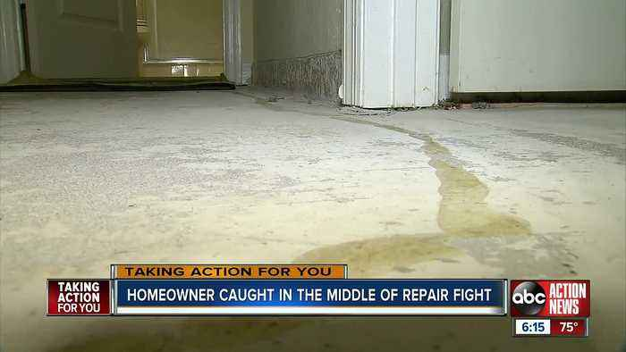 Tampa homeowner left with damaged condo 8 months after flooding
