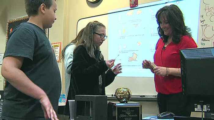 Golden Apple: Hands-on teaching at Richland County Middle School