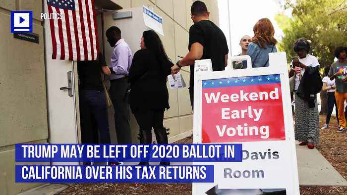 Trump May be Left Off 2020 Ballot in California Over His Tax Returns