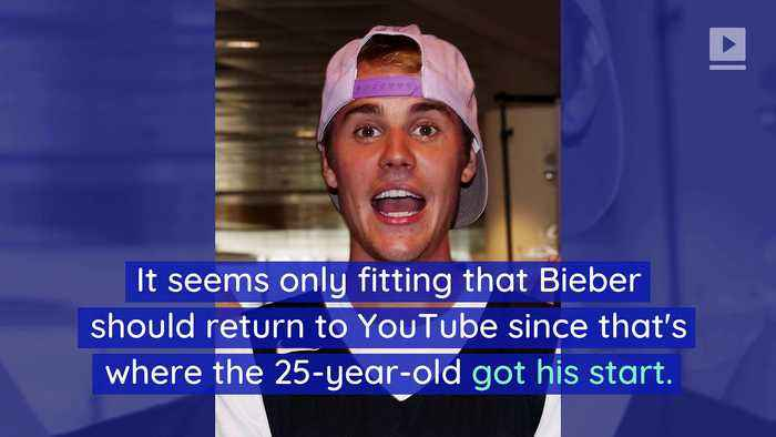 Justin Bieber Teams up With YouTube for Secret Project