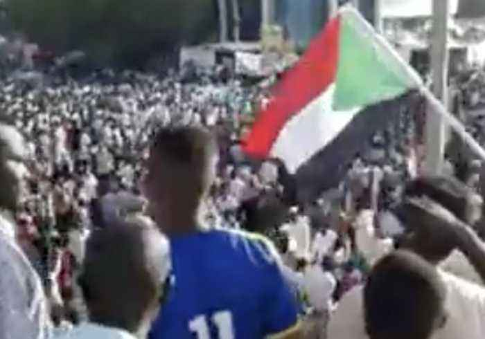 Protesters March Against Military Leaders in Sudan