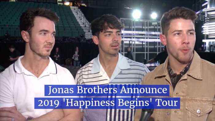 The Jonas Brothers Prepare For The Road