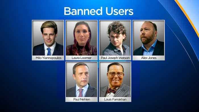 Facebook Bans Several Controversial Personalities from Its Platforms