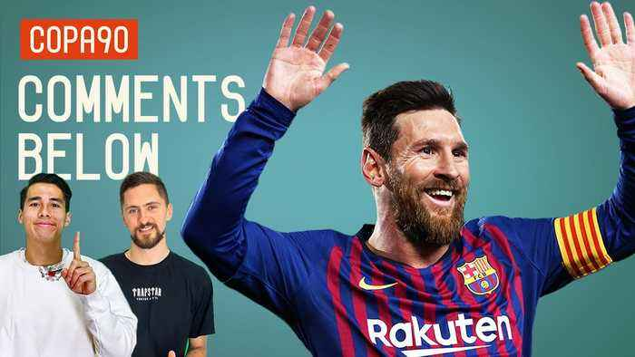 'WE ARE WITNESSING THE GREATEST FOOTBALLER EVER'   Comments Below
