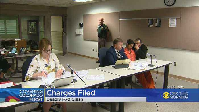 Truck Driver Rogel Lazaro Aguilera-Mederos Formally Charged In Interstate  70 Crash