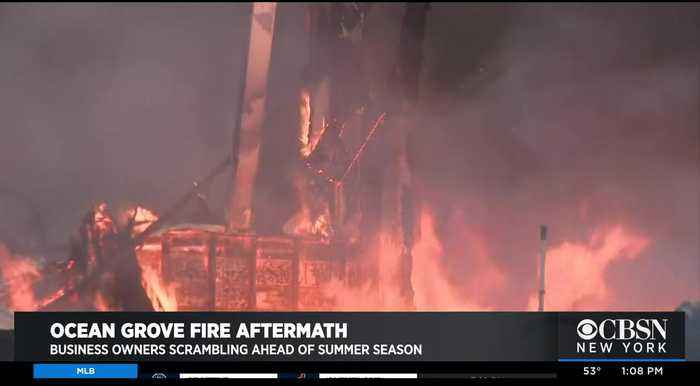 Ocean Grove Recovers From Fire