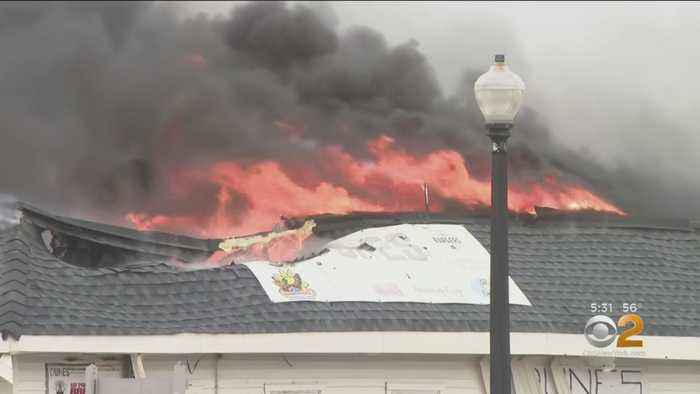 Businesses Look To Rebuild After Jersey Shore Fire
