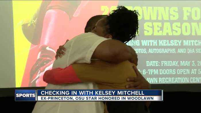 Kelsey Mitchell, former Princeton and OSU star, honored in Woodlawn