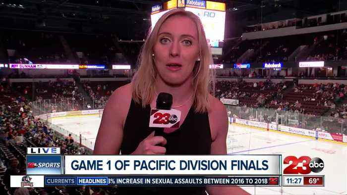 Live in overtime at game one of the Pacific Division Finals