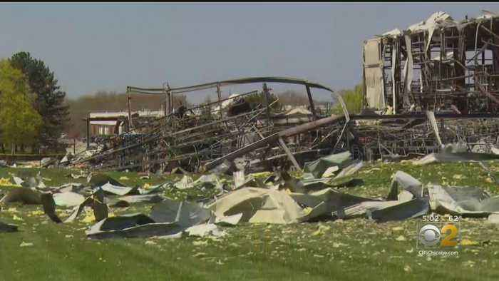 Search For Two Missing Employees Resumes At Site Of Waukegan Chemical Plant Explosion
