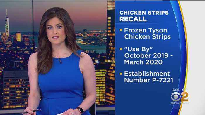 Tyson Foods Expands Recall Of Chicken Strips