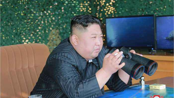 Kim Jong Un Shows Force With Barrage Of Missiles