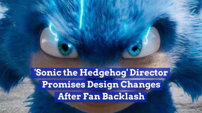 Sonic Is Getting A Redesign After Fan Outcry