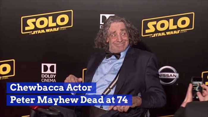 The Man Who Played Chewbacca Has Died