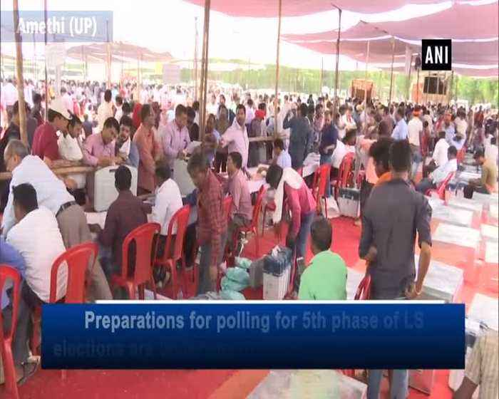 Preperations underway for 5th phase of LS polls in Uttar Pradesh