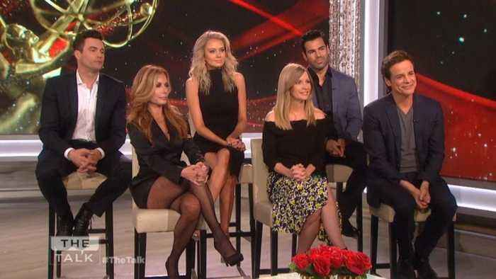 The Talk - 'The Young and the Restless' Actors on Outstanding Drama Series Daytime Emmy Win and How They Celebrated